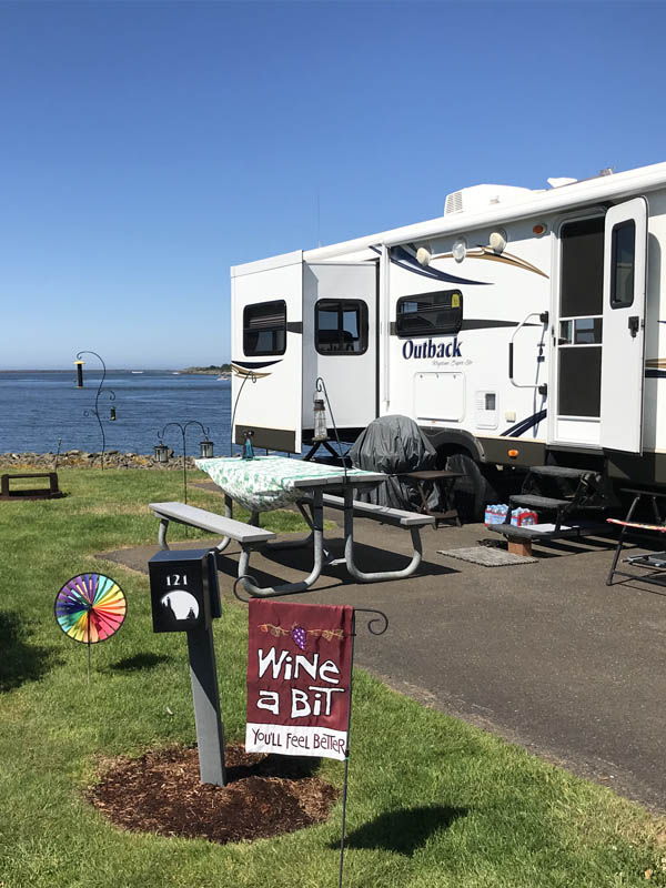 Winchester Bay Rv Resort At Salmon Harbor Marina Oregon